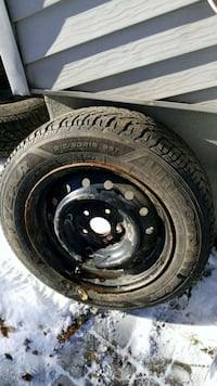 black bullet hole vehicle wheel and tire Montreal