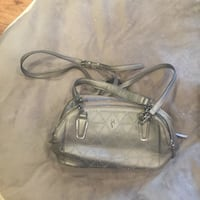 Simply Vera Metal Gray Purse by Vera Wang Woodbridge