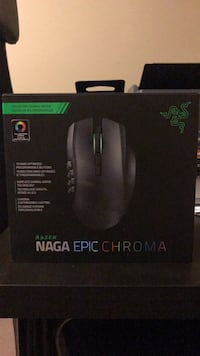 Razer Naga Epic Chroma Multi-Color Wireless MMO Gaming Mouse with 19 Buttons and 8200 dpi Calgary, T2N 2W4