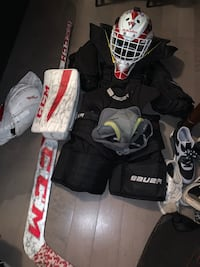 Full hockey set costed 3200$ at source for sports