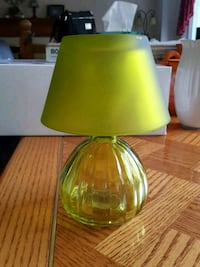 green and white table lamp Ottawa, K1G 4R3