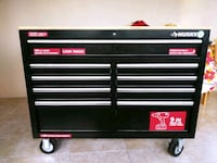 black and gray Husky tool cabinet and will include Deltona, 32725