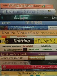 Assorted Knitting Books West Springfield