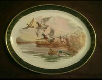 Royal Falconware 4-72 Platter Mallard Ducks Ottawa