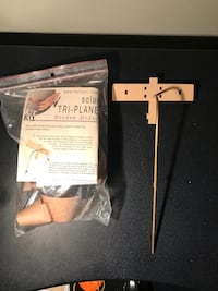 Arts and crafts solar powered model plane Oakville, L6H