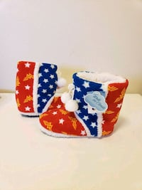 New With Tags Wonder Woman Boot Slippers Sz 7/8 Santa Rosa, 95404