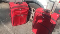 """Red and black luggage bag 36""""length College Park, 20740"""