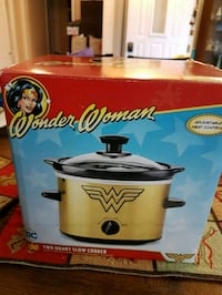 Wonder Woman 2Qt Slow Cooker  Oshawa, L1J 1W4