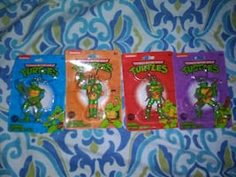 Ninja Turtles key chains
