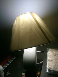 white shade table lamp Bronx, 10462