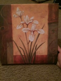 Canvas Flower Painting  Reno