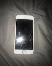 silver iPhone 6 with white case Arlington, 22209