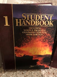 Set of 5 Student handbooks Bristow, 20136