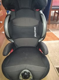 asiento convertible Playxtrem negro, rojo y gris d