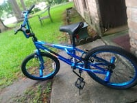 blue and black BMX bike Houston, 77065