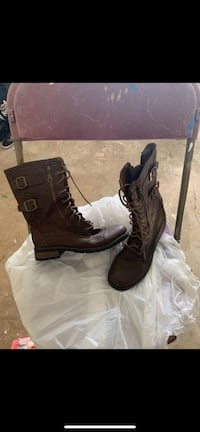 Pair of brown leather boots San Antonio, 78220