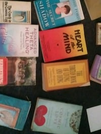 assorted labeled books and books New York, 10011