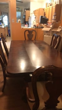 brown wooden dining table set Philadelphia, 19143