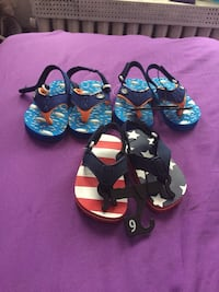 Boy sandals 3 dollars each size 6  Carbondale, 18407