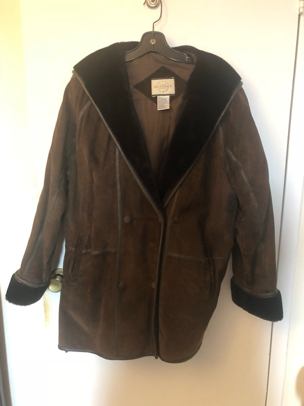 e665eb4d7bb Used Brown leather jacket for sale in Sudbury - letgo