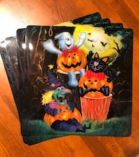 Halloween placemats Harpers Ferry, 25425