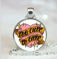 Necklace TOO Cute to Care Grove City