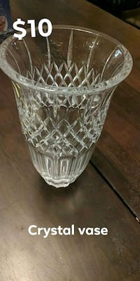 Crystal vase Middle River, 21220