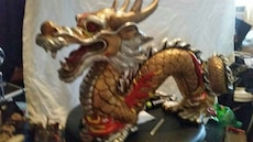 Hand Painted Dragon $50.00 Firm