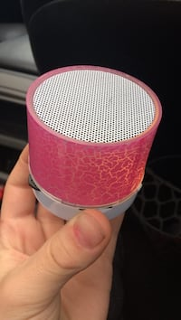 pink and white portable speaker Knoxville, 37922