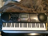 black and gray electronic keyboard Snellville, 30039