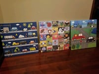 3 Childrens Canvas Pictures  Ocean Springs, 39564