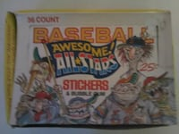Baseball Awesome All Stars Stickers  Toronto, M1N 3Y3