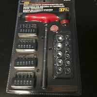 Brand New DURAMAX - 37 PC Bit And Socket - Screwdriver Set Vancouver
