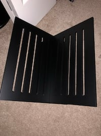 Black Magazine Rack Hamilton, L8V