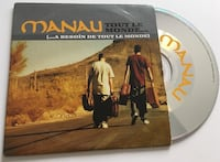 Manau Tout Le Monde CD single Arras, 62000