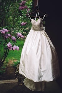 Sweetheart Wedding Dress Worn Once