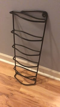 Iron wrought wall wine rack Mc Connells, 29726