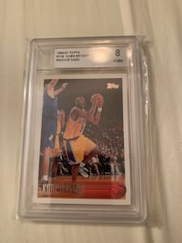 Kobe Bryant rookie card plus action figure