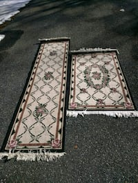 Area rug runner set of 2
