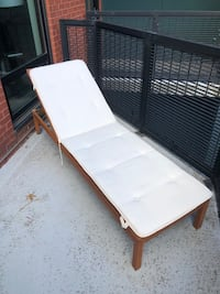 Elsmere chaise lounge with cushion Arlington, 22201