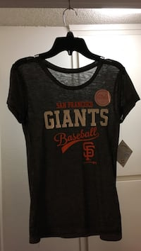 black San Francisco Giants crew-neck t-shirt Arroyo Grande, 93420