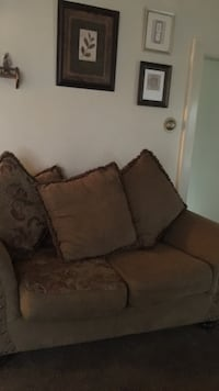 Sofa and loveseat ,clean and in very good condition