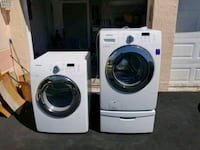 white front-load washer and dryer set Orlando, 32807