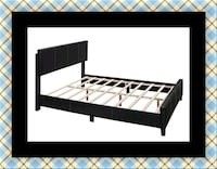 Queen bed platform bed with mattress New Carrollton