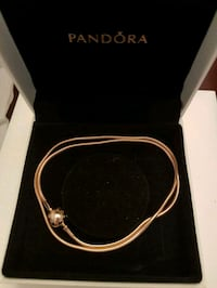 New Authentic rose gold essence necklace Ajax, L1T