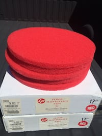 2 boxes of floor cleaning pads. 5 cleaning pads in each box. $10/box. Gaithersburg, 20879