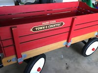 Red town and country radio flyer wagon Plainfield, 60585