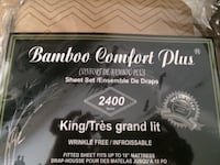 KING SIZE BAMBOO BEDSHEETS Toronto, M4A 1C4