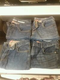 Four blue denim shorts good condition ! Brookhaven, 19015