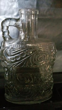 clear cut glass jar with lid Little River, 29566